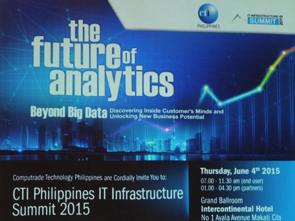 CTI IT Infrastructure Summit 2015