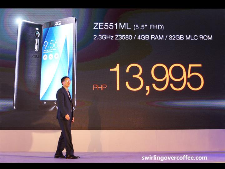 ASUS ZenFone 2, ASUS CEO Jerry Shen, ASUS ZenFone 2 Review
