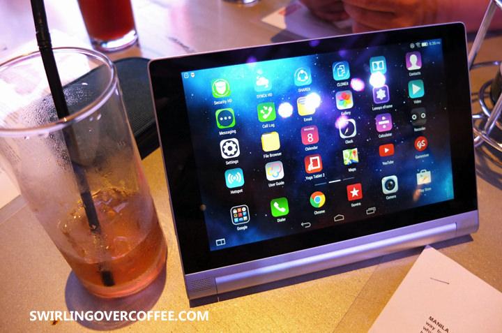 MJ Lastimosa, Markki Stroem, Lenovo Yoga Tablet 2
