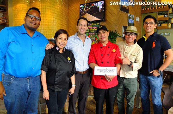 California Pizza Kitchen, Pizza War, Chef Laudico