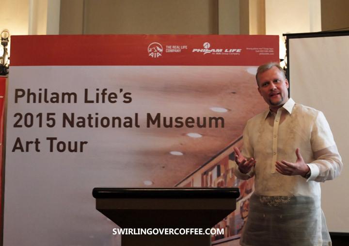 Philam Life CEO J. Axel Bromley, National Museum, Vicente Manansala