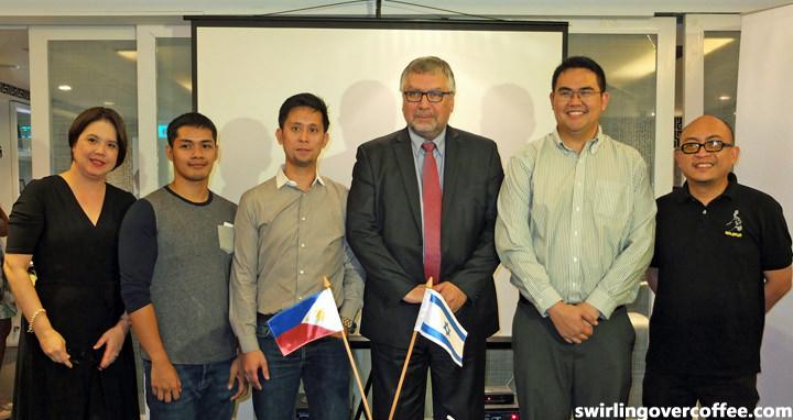 Israel Ambassador Effie Ben Matityau, Earl Marin Valencia, IdeaSpace