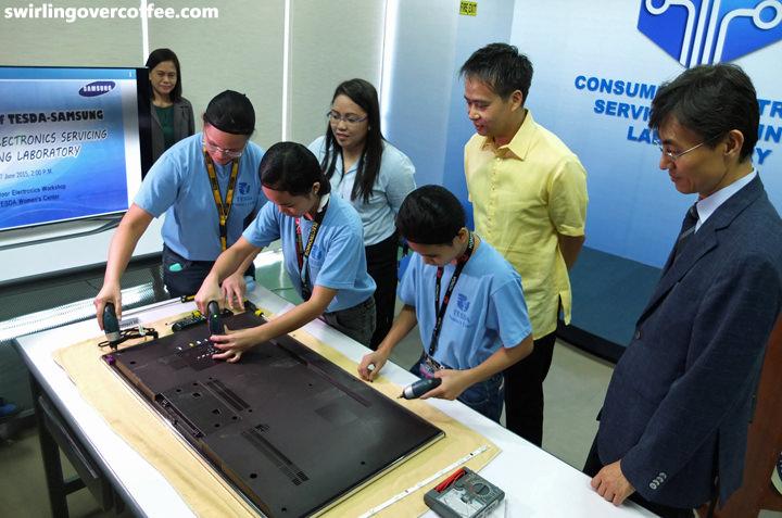 TESDA, Samsung, TESDA-Samsung Electronics Servicing Laboratory