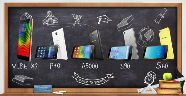 Lenovo Smartphones for an Amazing School Year Ahead
