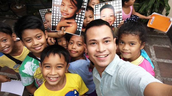 Photographer and 'dream enabler' Niccolo Cosme in Kawit, Cavite for 'See the Greatness in You' project in partnership with LG Electronics Philippines.