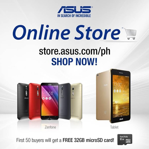 ASUS Philippines Officially Opens its Online Store