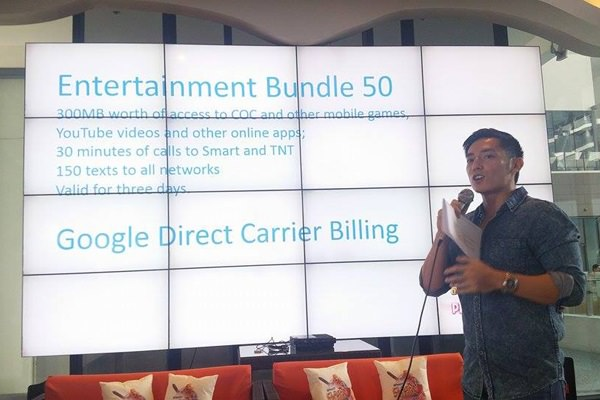 Chips Villanueva, Smart's Prepaid Manager talks about Smart's Entertainment Bundle 50 and on how prepaid subscribers can buy gems using their prepaid load.