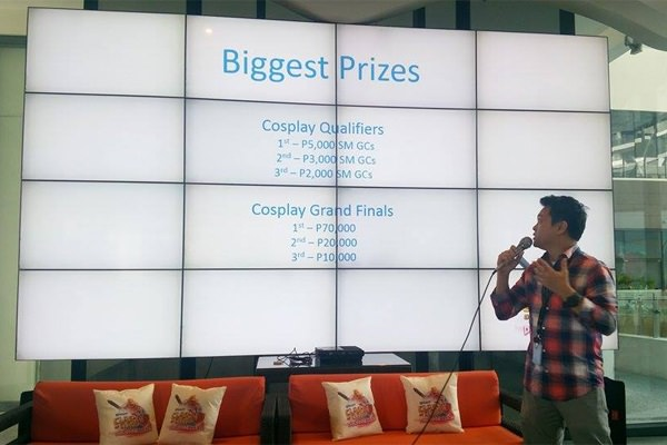 Cosplay contestant can also win up until P70,000 in the Grand Finals.