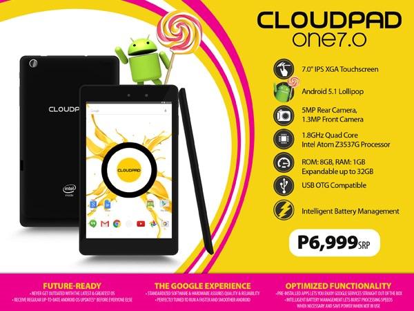 CloudPad One 7