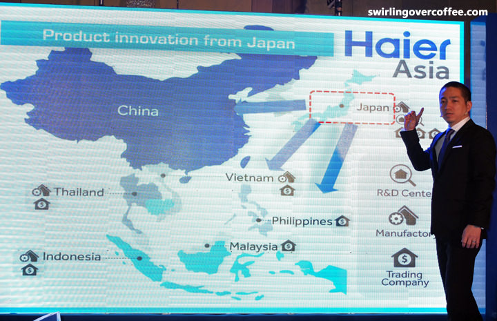Haier Asia's President and CEO Yoshiaki Ito, is on for a change