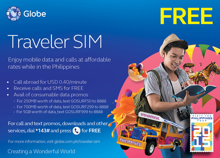 Globe Traveller SIM
