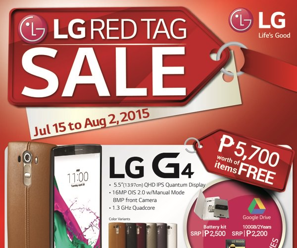 LG Red Tag Sale Poster1