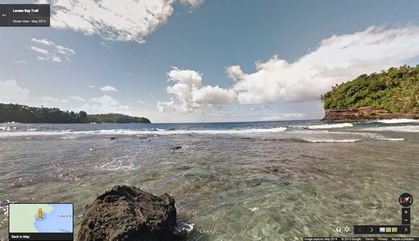 Larsen Bay,Samoa