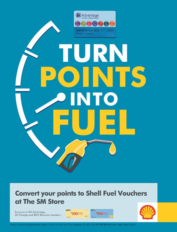 Shell_TURN POINTS INTO FUEL