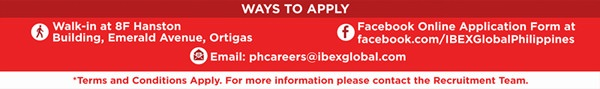 ibex ways to apply