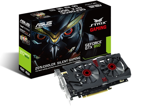 ASUS Announces Strix GTX 950