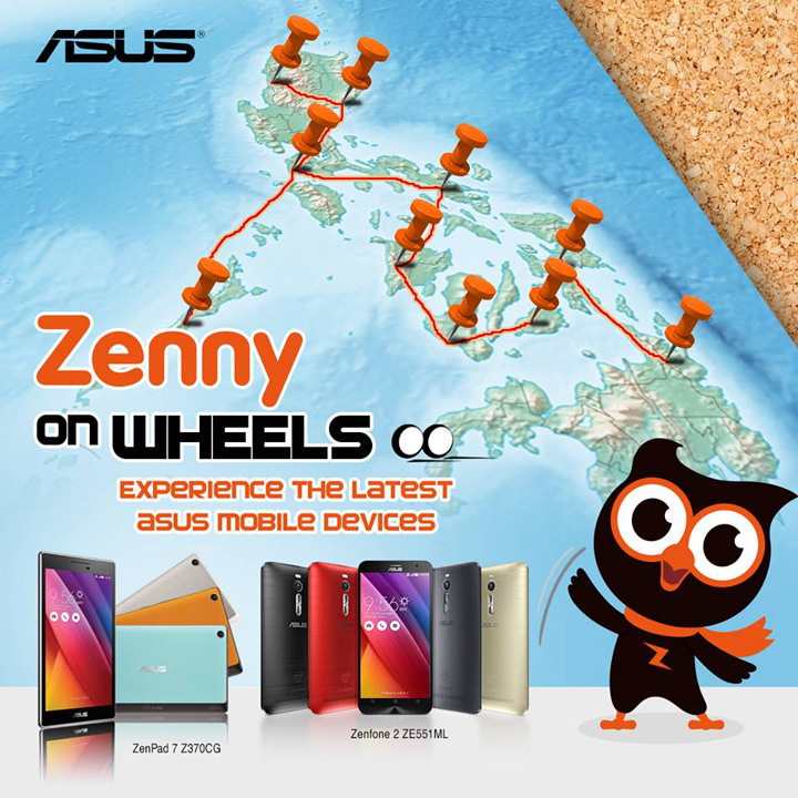 ASUS Zenny on Wheels Contest