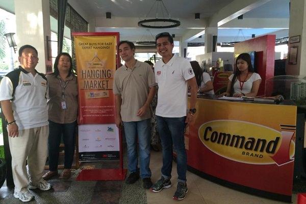 From left to right: Ed Marquez, Product Manager, 3M Philippines; Tina Dela Cruz, Co Ban Kiat Hardware, Senior Merchandising Manager; Jonas Maramara Business Development Manager, Co Ban Kiat Hardware; Jermits Rabonza, Product Manager, 3M Philippines