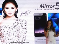 OPPO launches 5-inch, 2GB RAM, P9,990 OPPO Mirror 5, with Sarah Geronimo as first brand ambassador