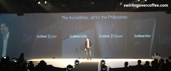 Jerry Shen, ASUS ZenFone Deluxe, ASUS ZenFone Selfie, ASUS ZenFone Laser