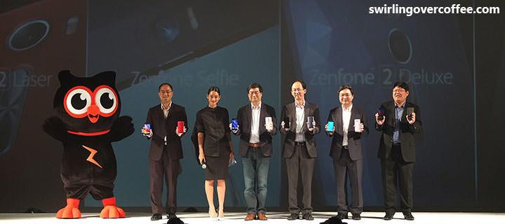 ASUS launches ZenFone Selfie, ZenFone Laser, and ZenFone 2 Deluxe