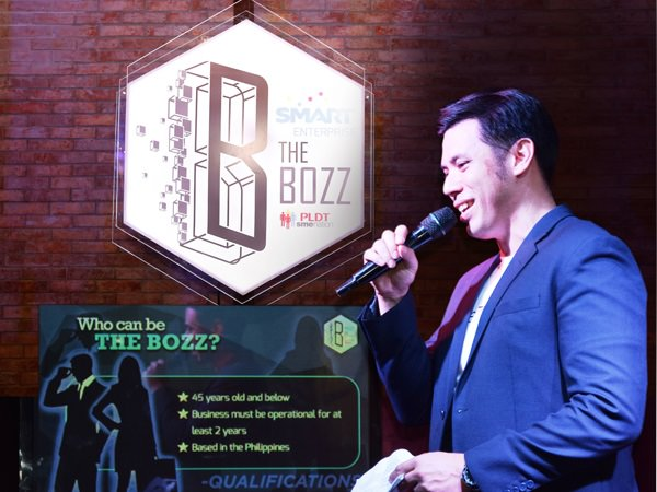 PLDT SME Community Engagement Services Head Gabby Cui explains the qualifications for the Bozz Awards.