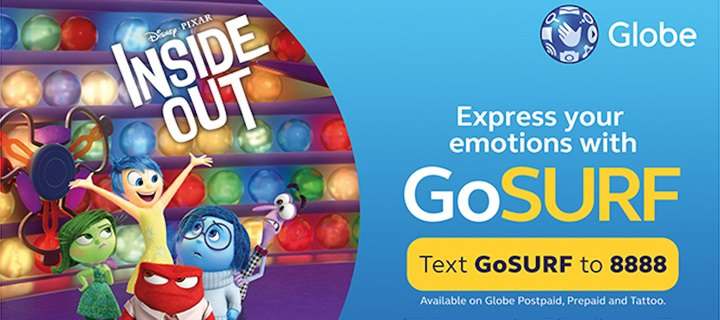 Globe Telecom brings Disney Pixar's Inside Out first and closer to Filipino audience