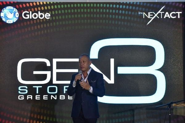 The launch was formally opened with warm welcoming remarks by Globe President and CEO Ernest Cu.