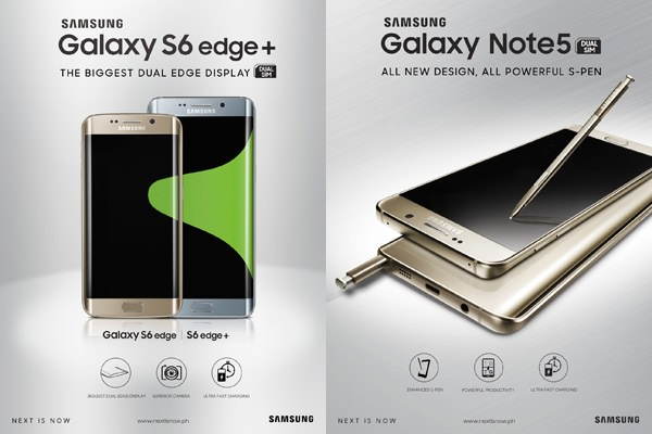 Globe Samsung Note5 and S6 Promo