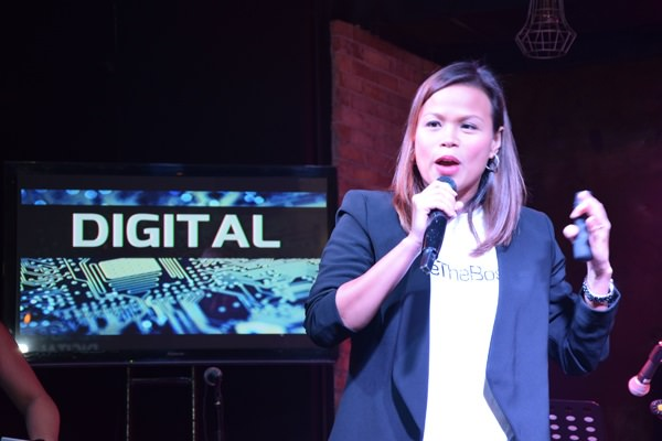PLDT FVP and Head of SME Business Kat Luna-Abelarde talks about the future of SMEs during the launch of the first ever Bozz Awards.