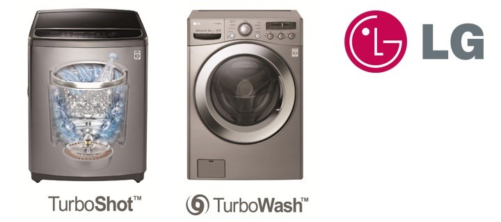 Tackle big loads of laundry fast and easy with LG's revolutionary turbo washers