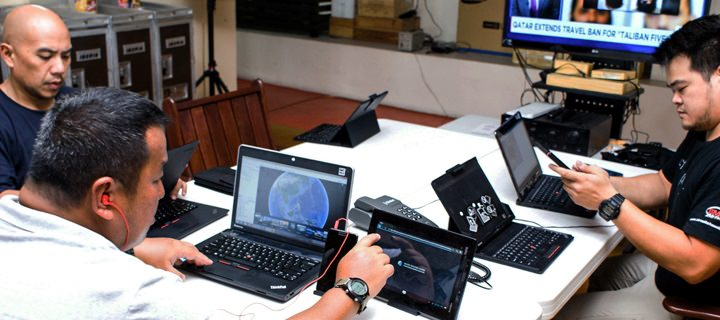 Lenovo solutions to empower Team Patola's disaster management operations