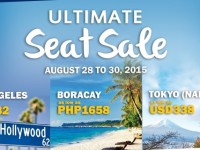 Philippine Airlines Ultimate Seat Sale on August 28 to 30