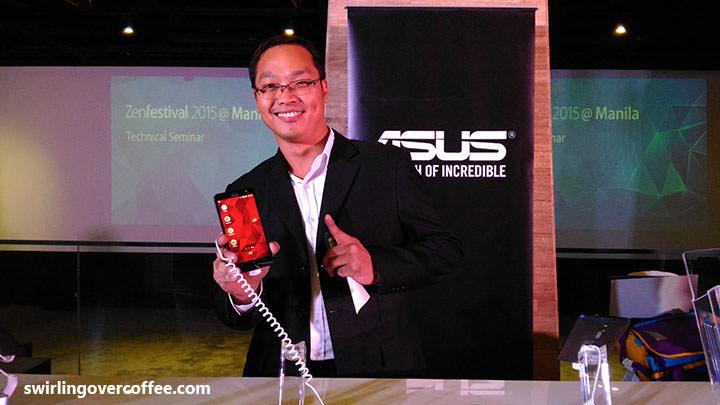 Alvin Estacio, ASUS ZenFone Selfie, ASUS ZenFone Laser