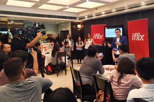 Sherwin dela Cruz, Country Manager for iflix Philippines