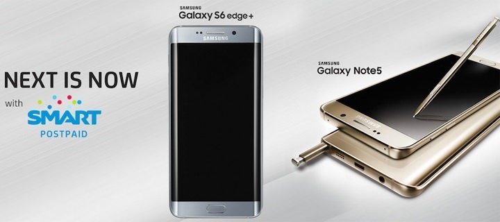 Smart opens pre-registration for Samsung Note 5 and Samsung Galaxy Edge Plus