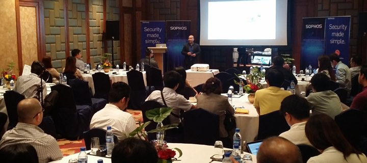 Sophos Connects With Channel Partners at  Inaugural Partner Roadshow