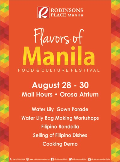 flavors of manila poster