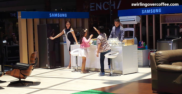 Samsung Happy Home Roadshow showcases Samsung Television, Home Entertainment, and Digital Appliances