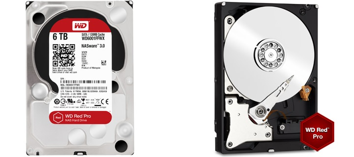 WD Red™ Pro drives now available in 6TB