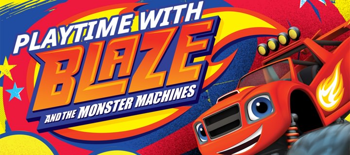 "Nickelodeon launches ""Playtime with Blaze and the Monster Machines"" app in Asia"