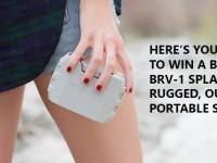 Win a splash-proof Braven BRV-1 outdoor speaker!