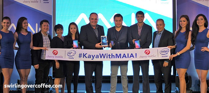 Cherry Mobile launches price-point and performance-focused Intel-Powered MAIA series, with Janella Salvador as new endorser