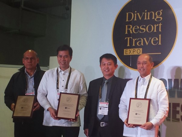 L-R: TIEZA assistant chief operating officer for assets management section Jetro Lozada; DOT undersecretary for tourism development Benito Bengzon; DRT Show CEO Jason Chong and Tourism Promotions Board COO Domingo Ramon Enerio III
