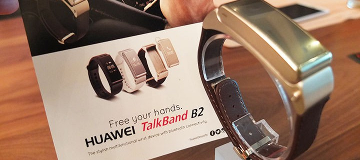 Huawei TalkBand B2 is your splash-proof, uber-practical, Bluetooth earpiece and fitness wearable