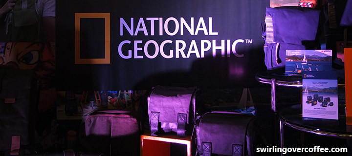 Vitec Group showcases products under the National Geographic, Gitzo, and Manfrotto brands