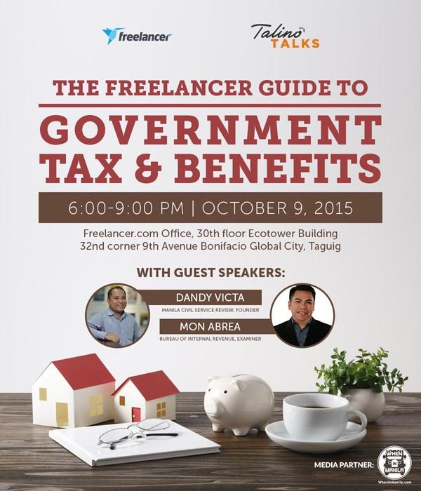 Freelancer Talino Talks Taxes