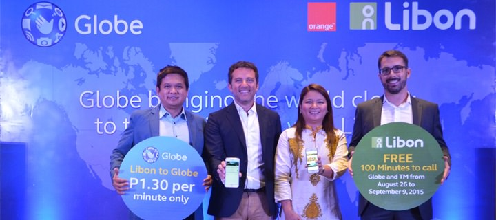 Globe Telecom widens global footprint through partnership with Orange's Libon application