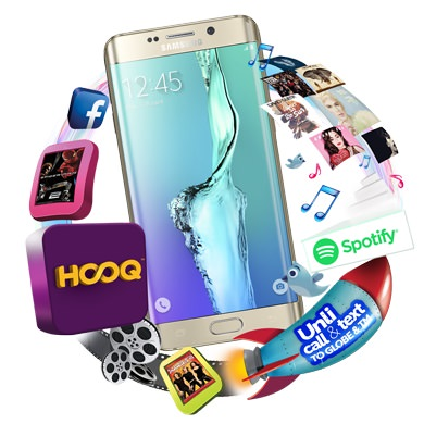 Globe Samsung Galaxy S6 Edge + Pricing