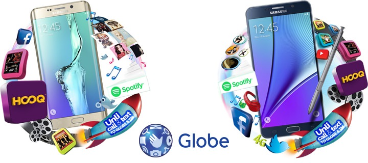 Globe Samsung Galaxy S6 Edge+ and Note 5 Pricing